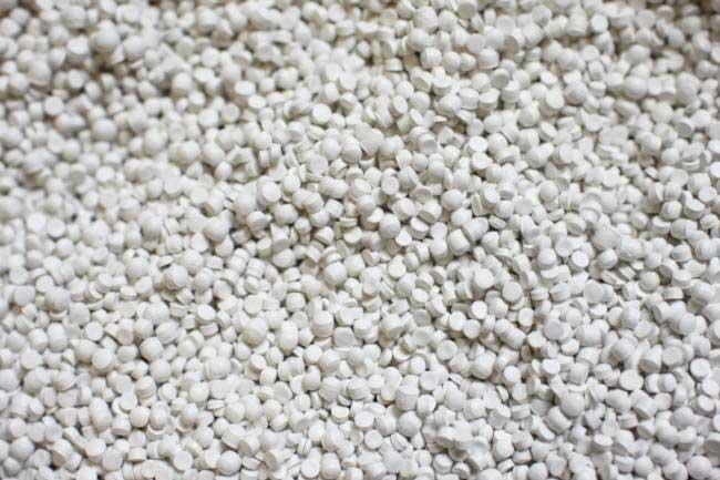 pcw white pellets prices